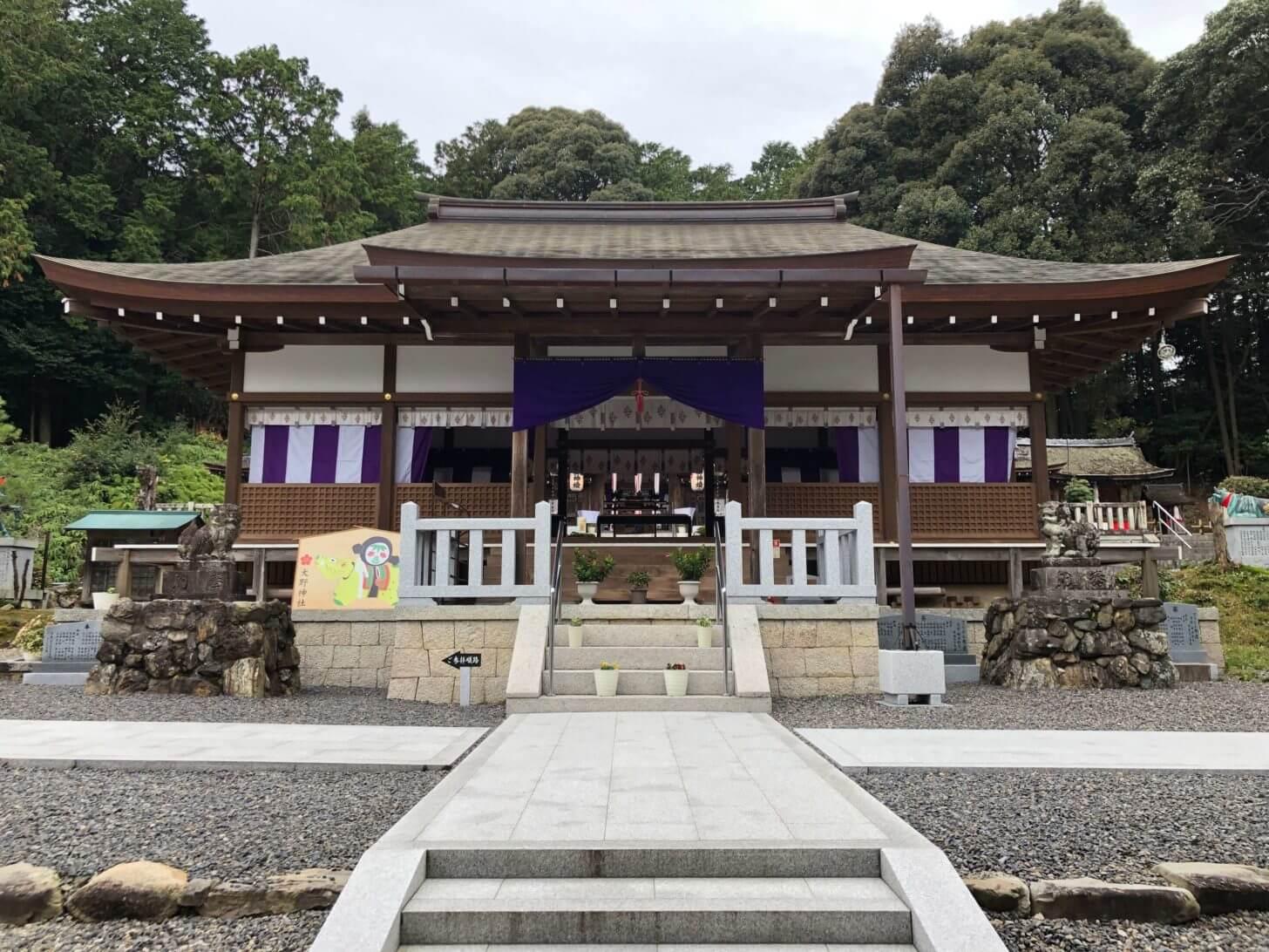 栗東・大野神社境内