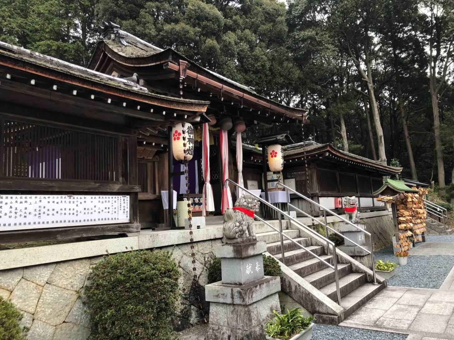 栗東・大野神社の拝殿