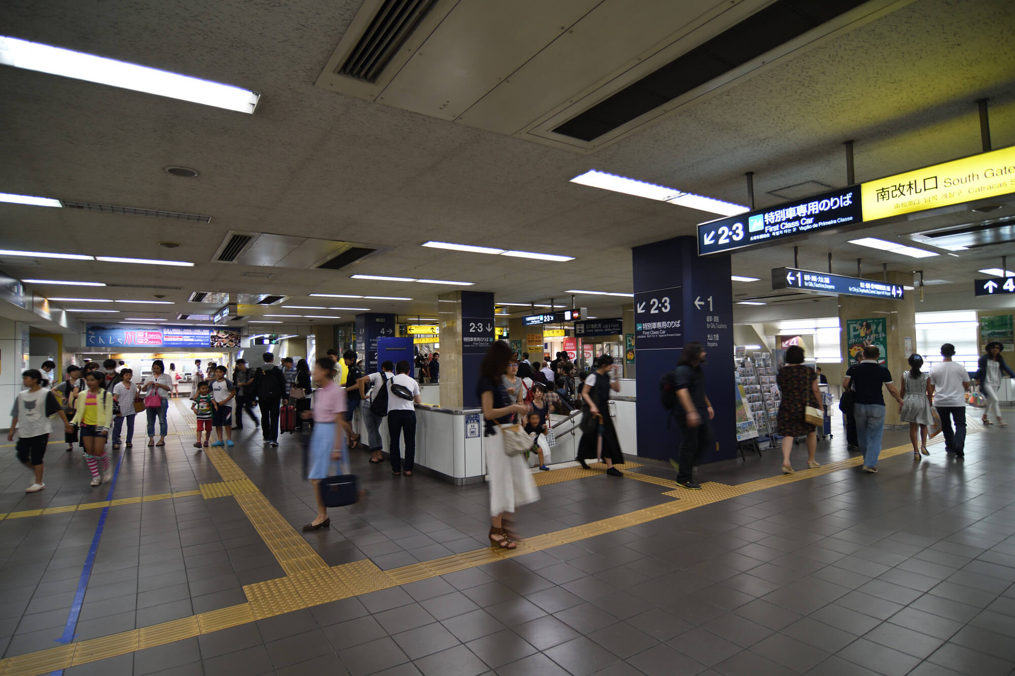 名鉄名古屋駅のコンコース