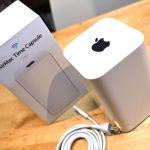 AirMac Time Capsule導入。Wi-Fi速度が上がり、ワイヤレス化が加速!