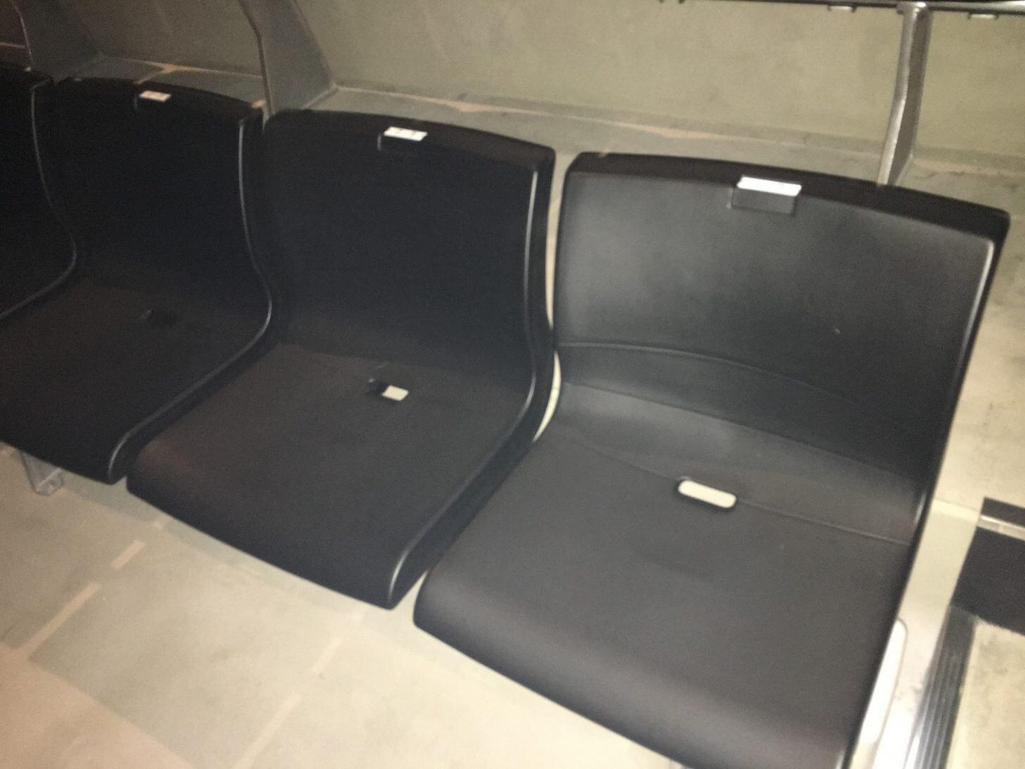 Zepp Osaka Baysideの2階席の座席