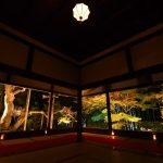 宝泉院ライトアップ「秋の夜灯り京都2017」