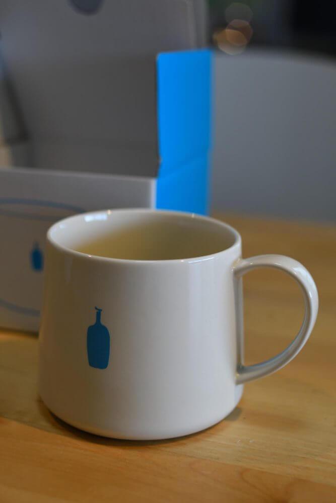 ブルーボトルコーヒーのマグカップ