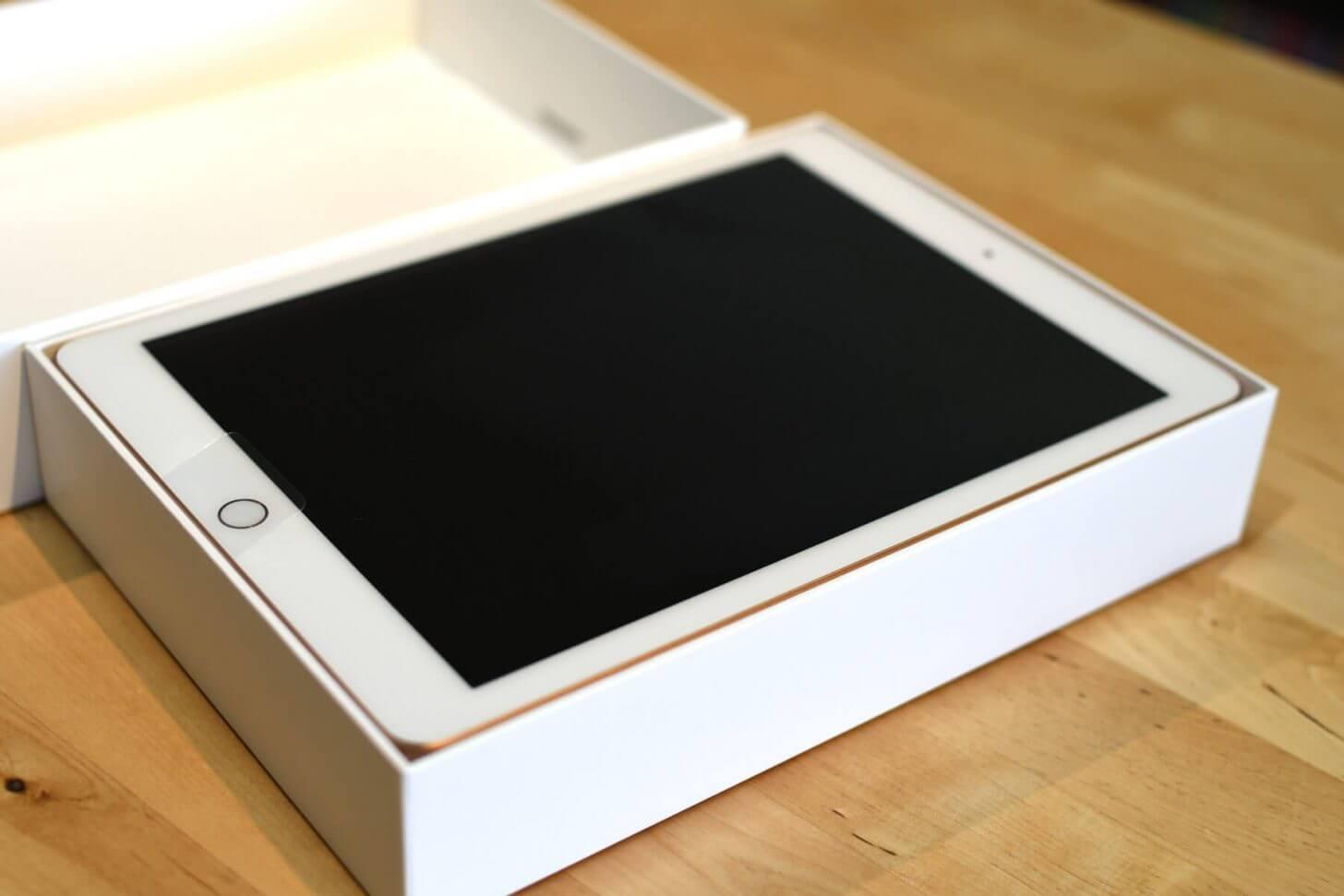 iPad2018お目見え!