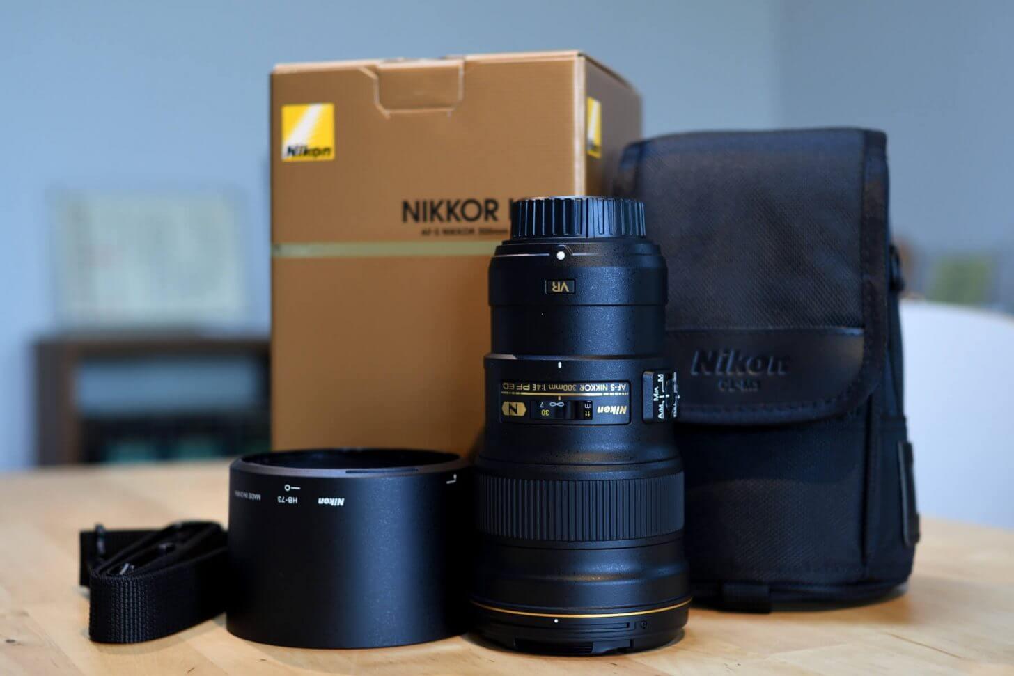 AF-S NIKKOR 300mm f/4E PF ED VRワンセット