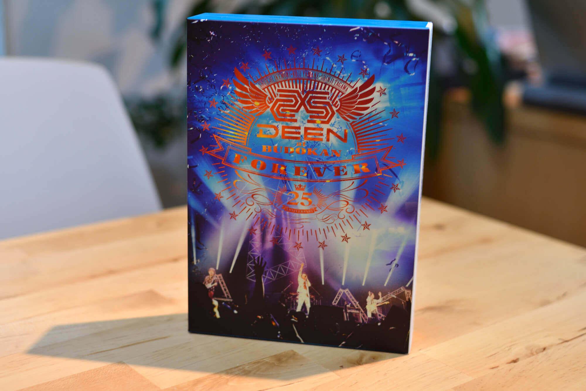 DEEN25周年武道館ライヴDVD&Blu-ray