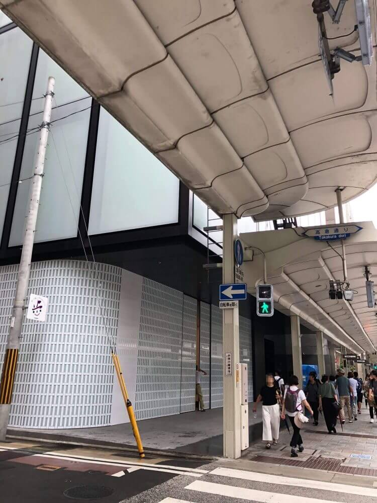 Apple 京都外観