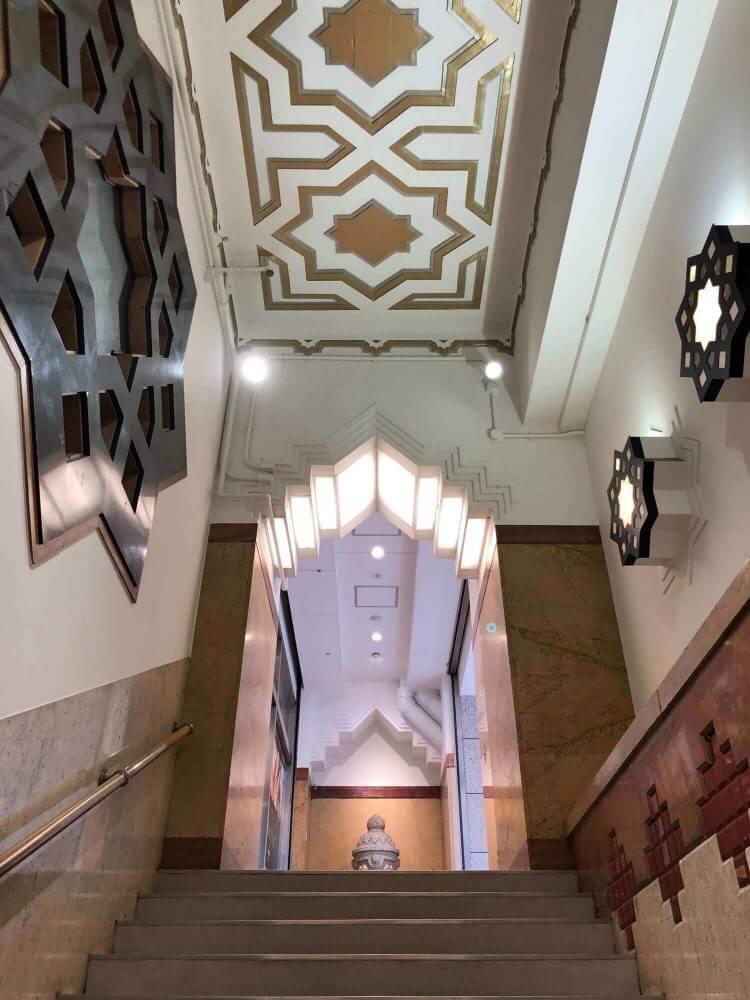 16番出口途中の階段