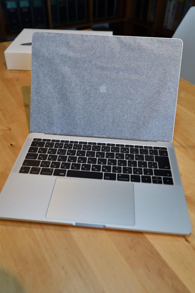 MacBookProセットアップ中