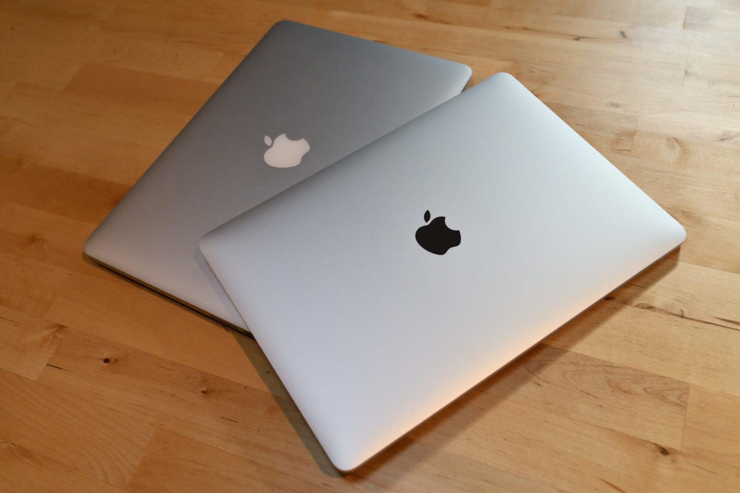 新旧MacBook Pro 13インチ