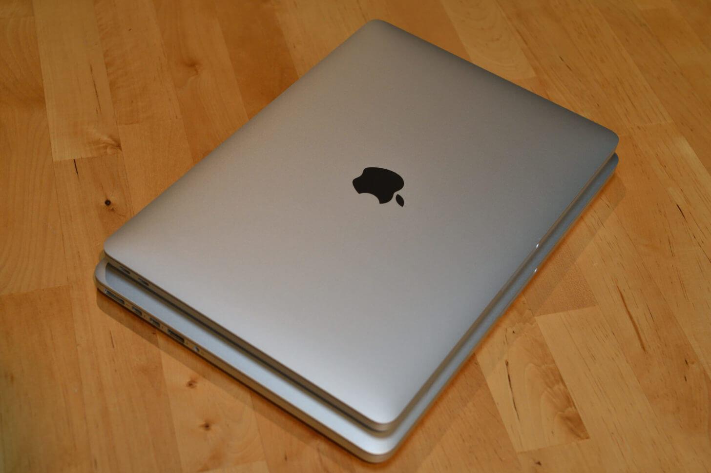 新旧MacBookPro