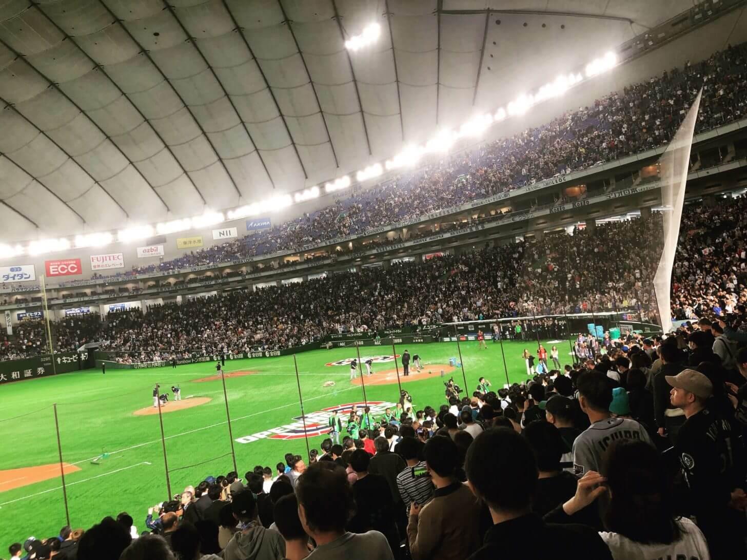 イチローの再登場を待ち続ける東京ドームのファン