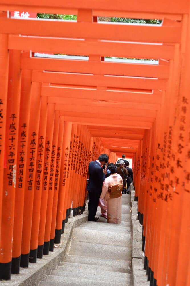 山王日枝神社の千本鳥居