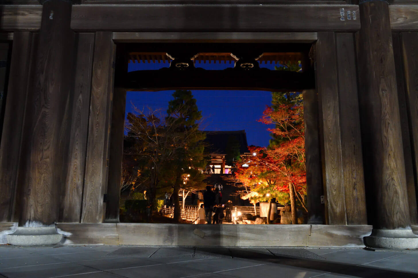 金戒光明寺 山門ライトアップ2019