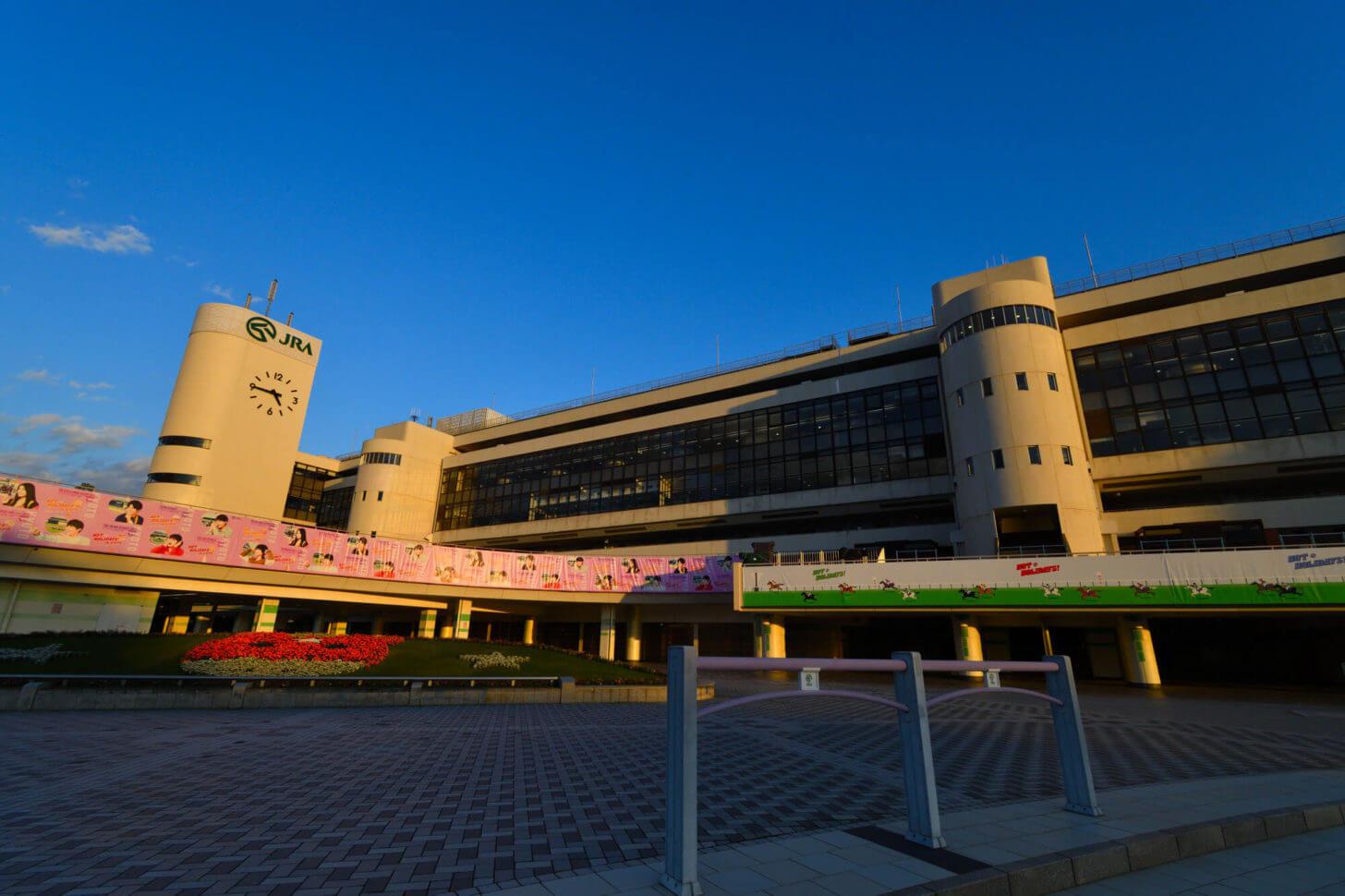 改修前の京都競馬場グランドスワン